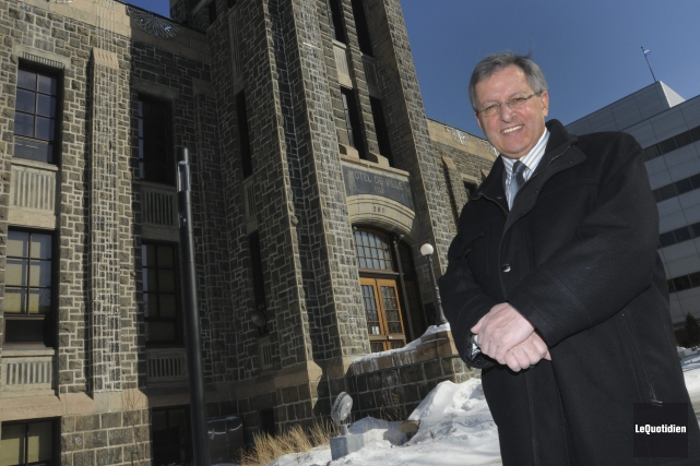 Le maire de Saguenay, Jean Tremblay, a finalement... ((Photo Le Quotidien, Michel Tremblay))