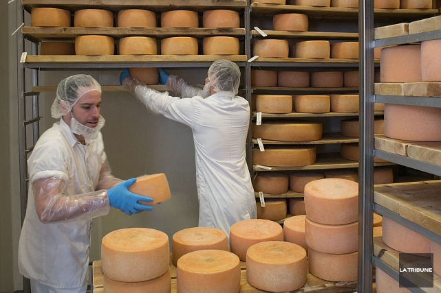 La Fromagerie La Station de Compton a placé... (Archives, La Tribune)