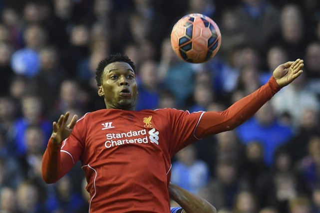 Daniel Sturridge... (PHOTO PAUL ELLIS, AFP)