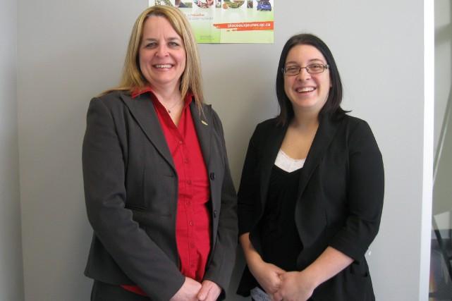 Isabelle Gagnon, directrice générale du Carrefour jeunesse-emploi Saguenay... ((Courtoisie))