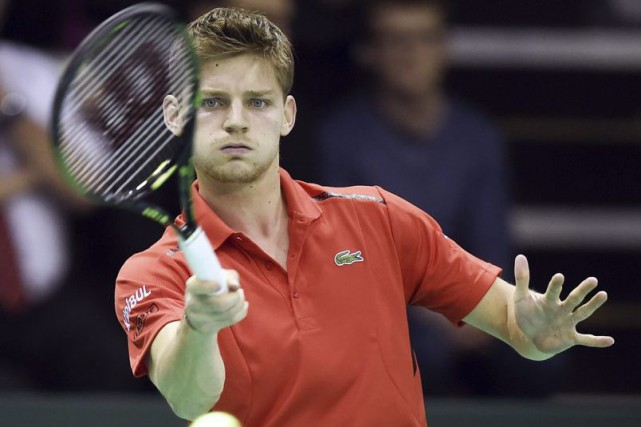 David Goffin... (Photo: AFP)