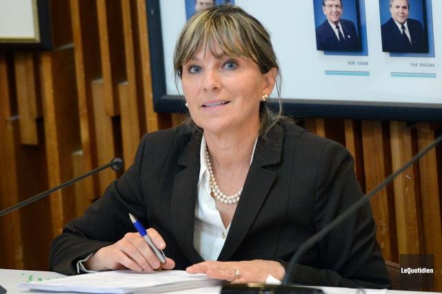 La conseillère désignée de l'Équipe du renouveau démocratique... ((Archives Le Quotidien))
