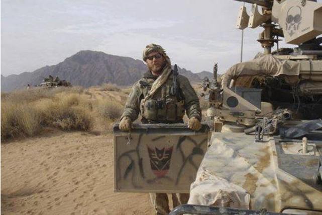 Le soldat canadien Andrew Joseph Doiron, mort vendredi... (PHOTO TIRÉE DE FACEBOOK)