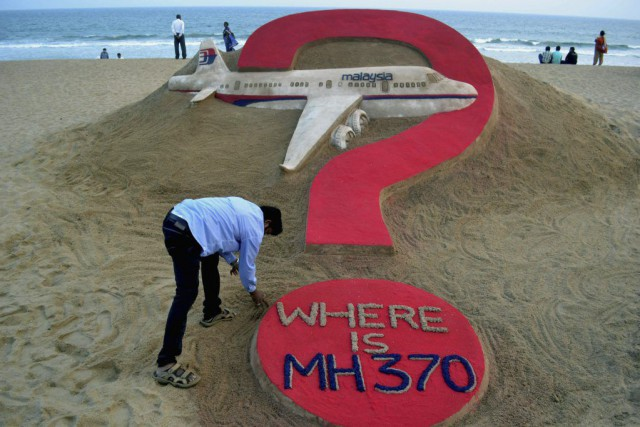 Le vol MH370 de la Malaysia Airlines n'est... (PHOTO J.K. JAGDEV, ARCHIVES AFP)
