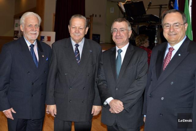 Gabriel Lessard, président de l'Association Richelieu Fondateurs, Jean... (Martin Roy, LeDroit)