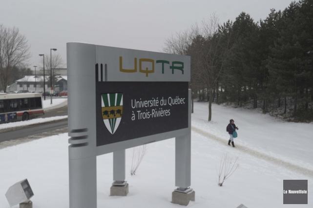 L'administration de l'UQTR a été contrainte de bloquer... (Photo: Sylvain Mayer Le Nouvelliste)