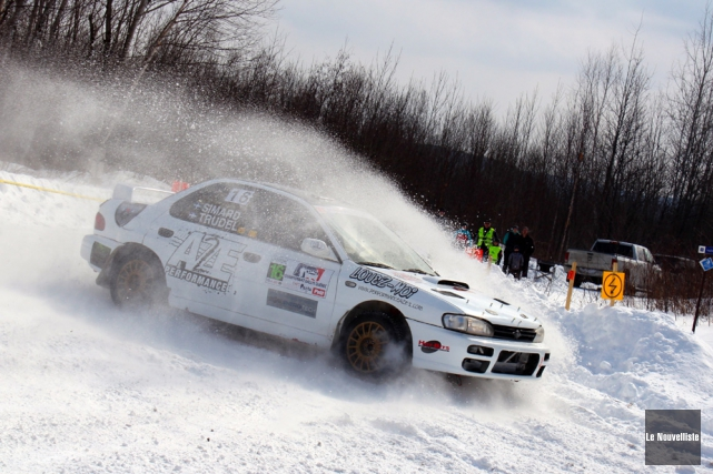 Le tracé du Rallye La Tuque proposait un... (Photo: Audrey Tremblay, Le Nouvelliste)
