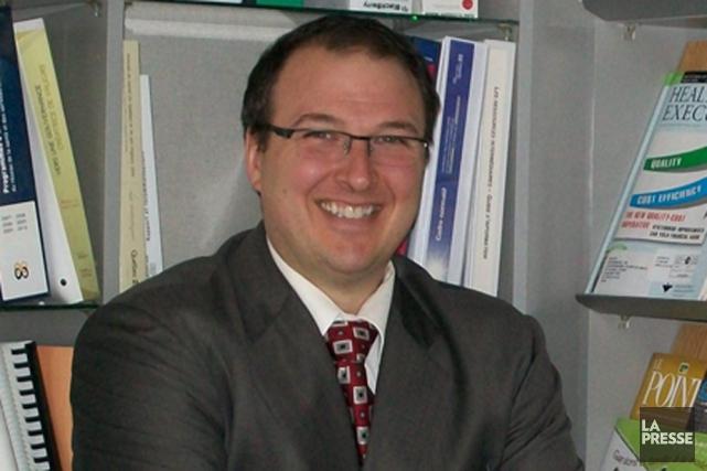 Martin Beaumont devient le président-directeur général de la... (Photo: Archives, La Presse)