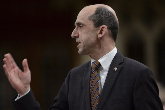 Le ministre de la Sécurité publique, Steven Blaney.... (Archives La Presse Canadienne)