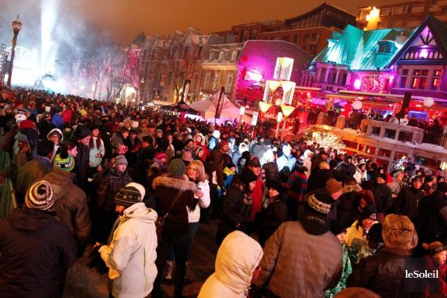 Les Fêtes du Nouvel An sur la Grande... (Photothèque Le Soleil, Yan Doublet)