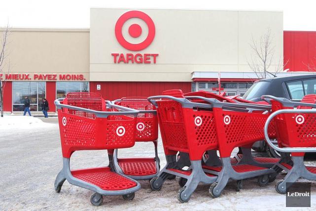 Les baux de 11 magasins Target Canada ont été revendus à leurs propriétaires... (Photo Étienne Ranger, archives Le Droit)