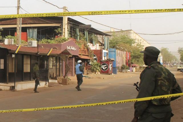 Un attentat a été perpétré samedi au coeur... (Photo: Reuters)
