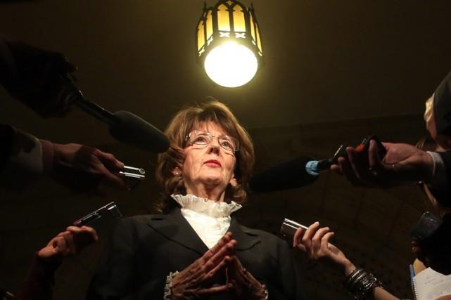 La sénatrice conservatriceMarjory LeBreton.... (Archives PC)