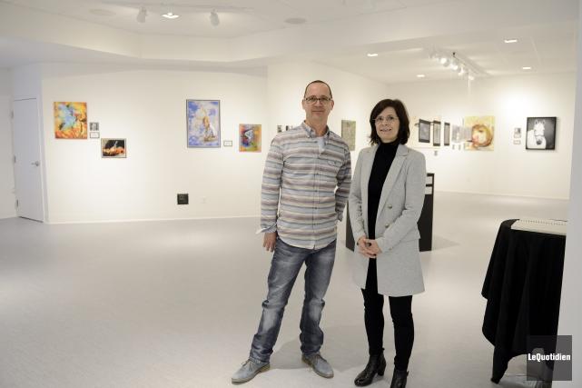 Steve Renald et France Tremblay annoncent l'ouverture d'une... ((Photo Le Quotidien, Jeannot Lévesque))