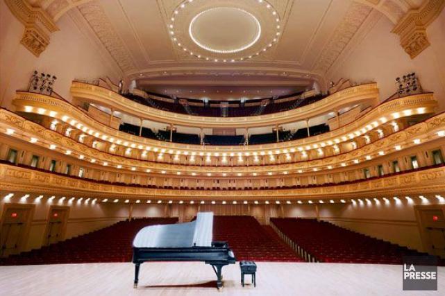 Une avant-première au Carnegie Hall a été annulée.... (Photo d'archives)