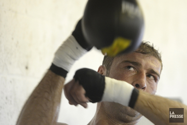 Lucian Bute... (Photo: Bernard Brault, archives La Presse)
