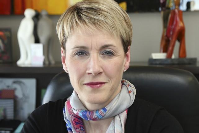 Me Marie-Claude Landry sera présidente de la Commission... (Photo Alain Dion)