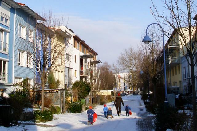 Le quartier Vauban, à Freiburg, est un des... (Photo fournie par Vivre en ville)