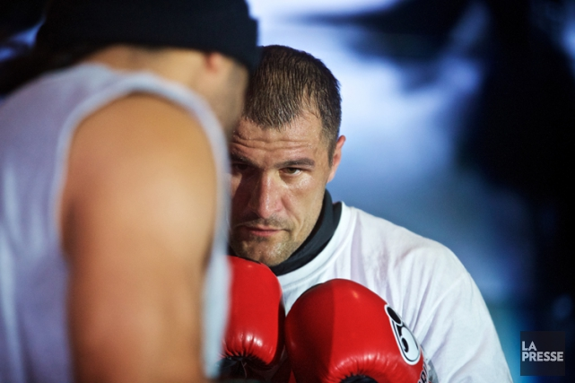 Sergey Kovalevtentera de défendre son titre du WBO... (Photo: André Pichette, La Presse)