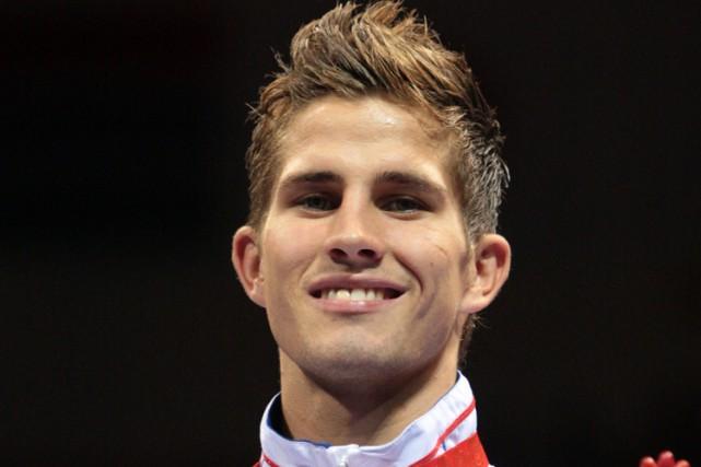 Alexis Vastine a remporté une médaille de bronze... (Archives AFP)