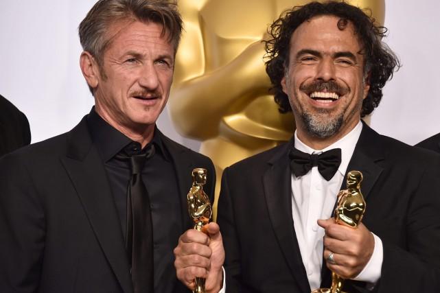 Sean Penn et Alejandro González Iñárritu.... (Photo: archives AP)