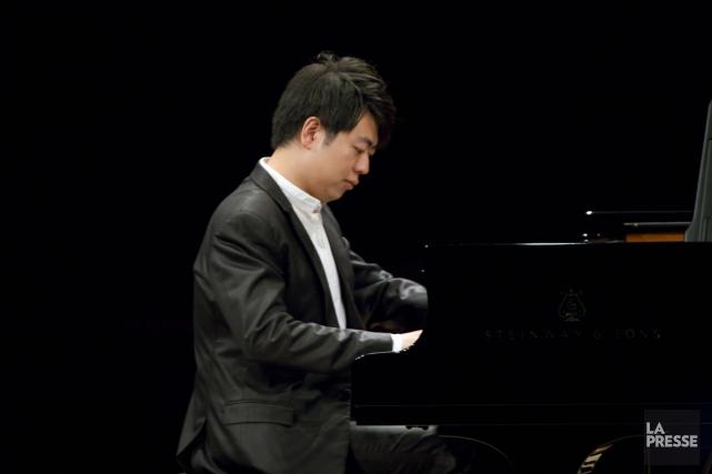 Le jeune pianiste chinois Lang Lang.... (Photo: André Pichette, archives La Presse)
