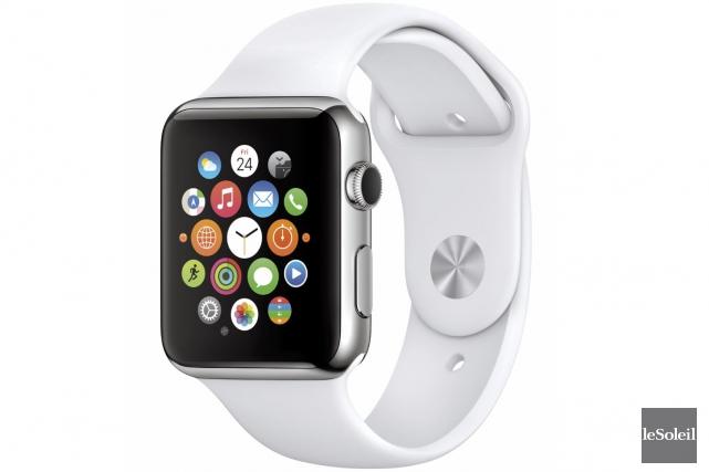 Trois applications mobiles conçues pour l'Apple Watch par... (Photothèque Le Soleil)