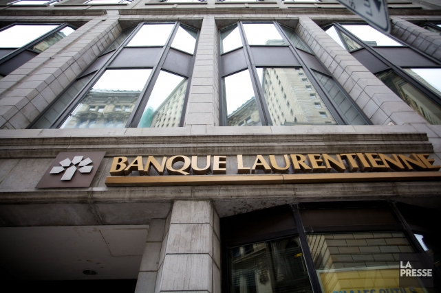 La Banque Laurentienne a connu un premier trimestre... (PHOTO SARAH MONGEAU-BIRKETT, ARCHIVES LA PRESSE)