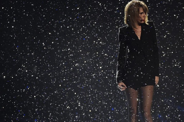 Taylor Swift lors d'une prestation aux BRIT Awards... (Photo: archives Reuters)