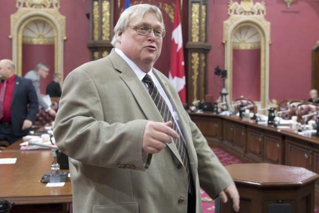 Le ministre de la Santé, Gaétan Barrette... (Archives La Presse Canadienne)