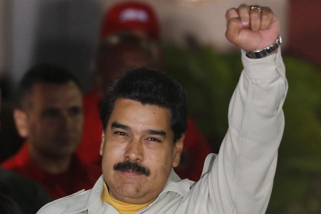 Le président vénézuélien, Nicolas Maduro... (Photo Ariana Cubillos, AP)