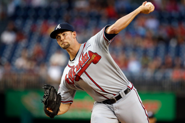 Mike Minor... (Photo Alex Brandon, archives AP)