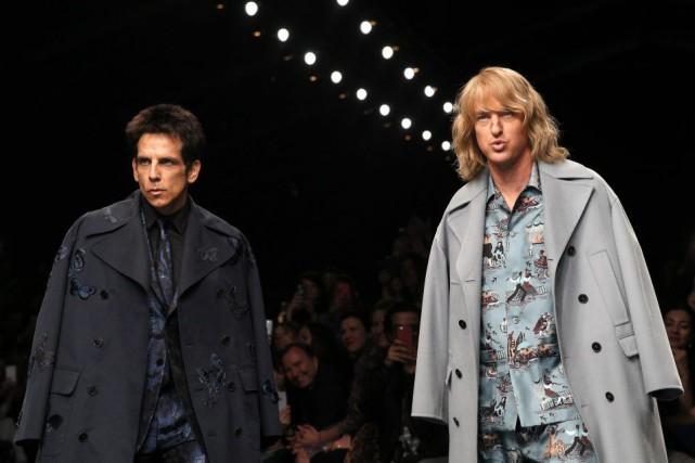 Ben Stiller et Owen Wilson portent les créations... (Photo: AP)