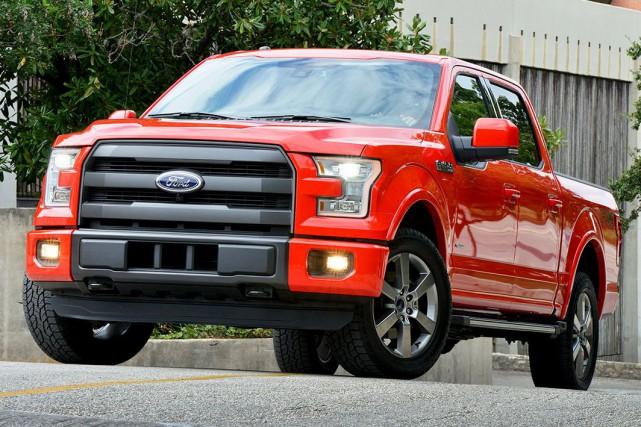 Le nouveau F-150 de Ford est construit en... (Photo fournie par Ford)
