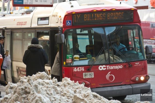 Le coût du trajet d'OC Transpo passera à... (Martin Roy, archives LeDroit)