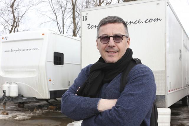Le directeur des lieux de tournage du film... (photo Alain Dion)