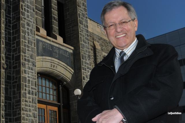 En avril 2004, le maire de Saguenay, Jean... (PHOTO MICHEL TREMBLAY, archives Le QUOTIDIEN)