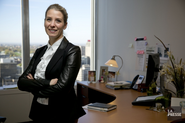 Geneviève Cloutier, chef de pratique, rémunération et performance... (PHOTO DAVID BOILY, ARCHIVES LA PRESSE)