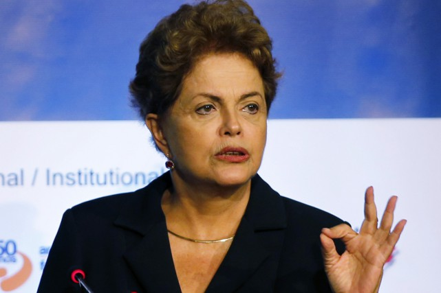 Dilma Rousseff, qui a été réélue à la... (PHOTO PAUL WITHAKER, REUTERS)