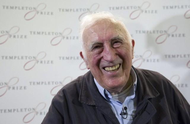 Jean Vanier... (PHOTO JUSTIN TALLIS, AGENCE FRANCE-PRESSE)