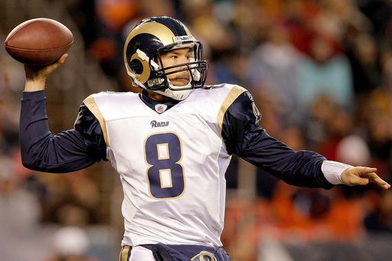 Les Rams de St-Louis ont envoyé leur quart... (Photo: AP)