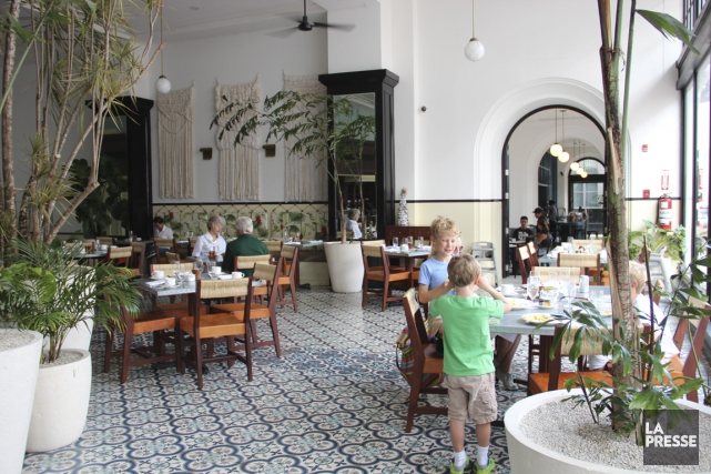 L'American Trade Hotel possède un charme tout à... (Photo Marie-Eve Morasse, La Presse)