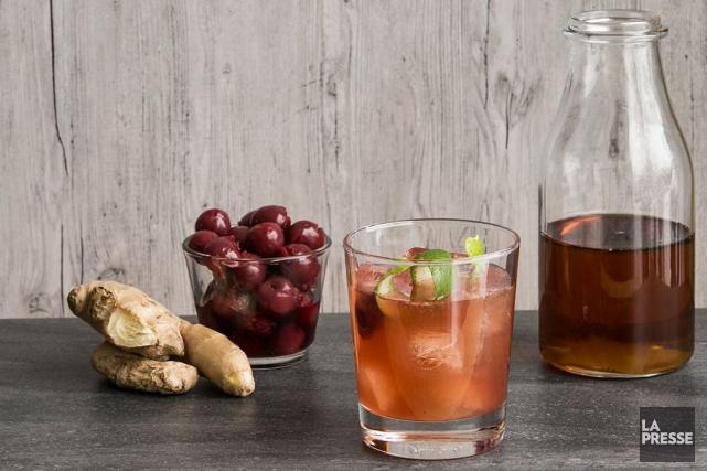 Voici trois recettes mettant en vedette le sirop d'érable: un cocktail aux... (Photo Hugo-Sébastien Aubert, La Presse)