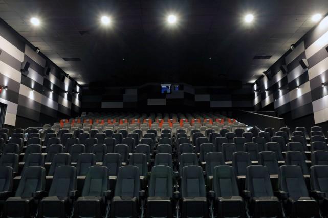 Situé dans le cinéma Saint-Eustache, dont on voit... (PHOTO TIRÉE DE LA PAGE FACEBOOK DU CINÉMA SAINT-EUSTACHE)