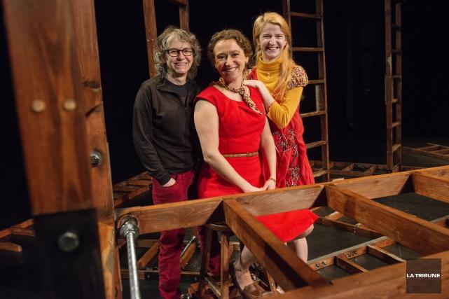 Les comédiennesMarianneMoisan et Ann-Catherine Choquette renouent avec le... (Imacom, Frédéric Côté)