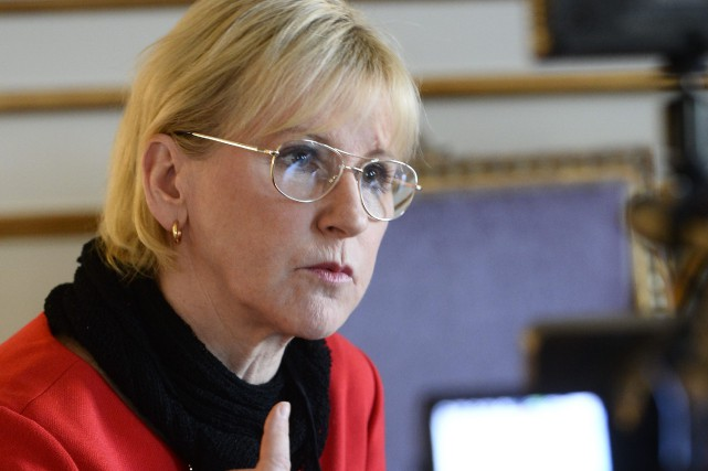 Margot Wallström... (Photo AFP)