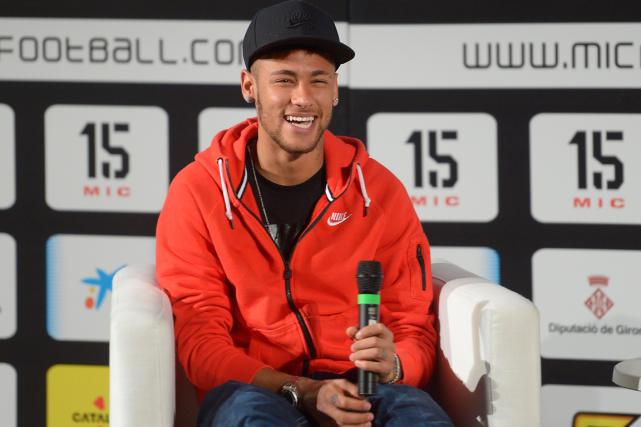 Neymar... (Photo Manu Fernandez, AP)