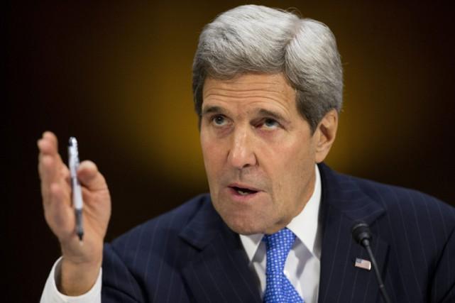 John Kerry a dénoncé devant la commission des... (Photo: AP)