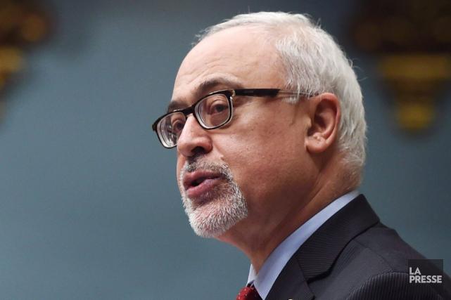 Le ministre des Finances du Québec Carlos Leitao... (Photo Jacques Boissinot, La Presse Canadienne)