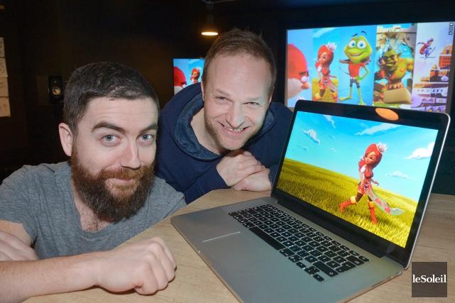 Les deux cofondateurs de Squeeze, Patrick Beaulieu et... (Le Soleil, Jean-Marie Villeneuve)